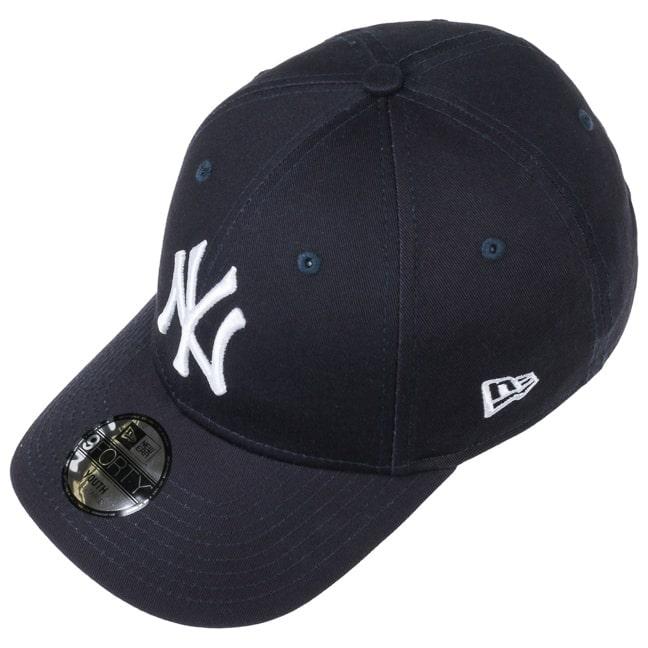 fddfe7e83be 9Forty JUNIOR NY Yankees Cap by New Era - grau 1 ...